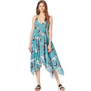 BCBGMaxAzria Handkerchief Coverup Dress